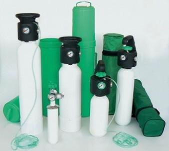 Ritiro bombole di ossigeno